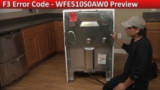 f3 error code whirlpool kenmore roper range