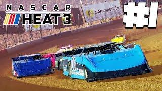 вРЫВАЕМСЯ В МИР НАСКАРА #1  NASCAR HEAT 3  Прохождение карьеры
