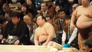2014年大相撲春場所、ただただ宝富士を写した動画です。 主演:宝富士 ...