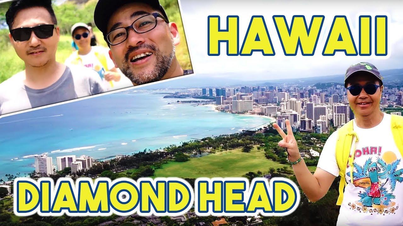 Hiking the Famous Diamond Head-HAWAII ADVENTURES