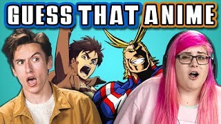 Download GUESS THAT ANIME CHALLENGE with TEENS & COLLEGE KIDS (React) Mp3 and Videos