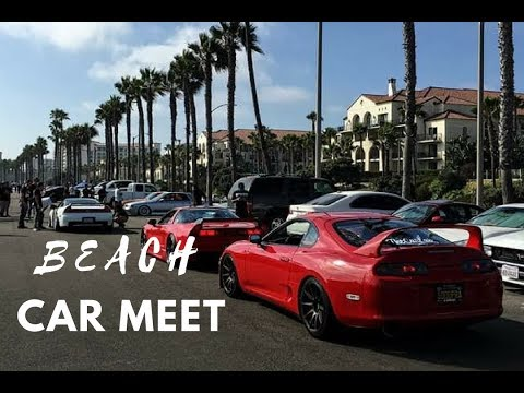 Beach Car Meet (round 2) in Huntington Beach