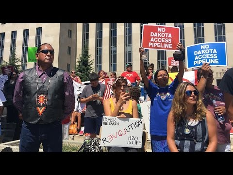 Dozens arrested in Dakota Access Pipeline protests