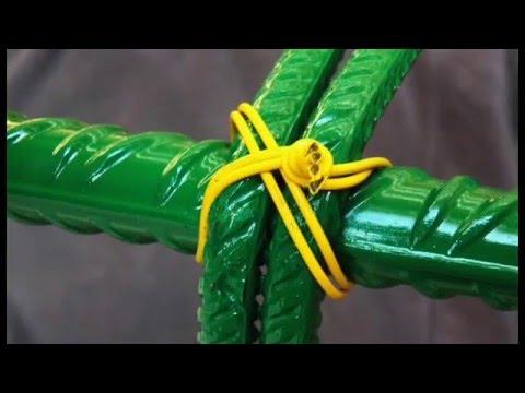 SMART TIE Rebar Tying System- Types of tying - Schnell Spa