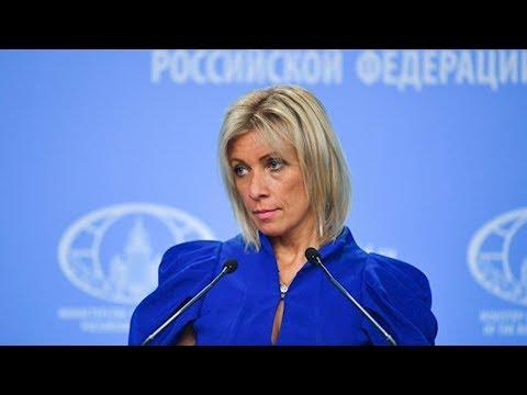 """""""Не пугайте нас"""", - Захарова """"взбесилась"""" из-за новых санкции против России"""