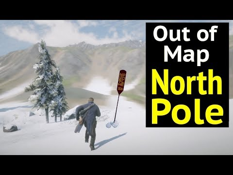 Reach North Pole (Out of Map) in Red Dead Redemption 2 (RDR2) - Beyond Tempest Rim (Canada)