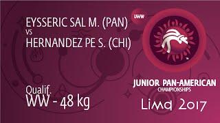 Qual. WW - 48 kg: M. EYSSERIC SAL (PAN) df. S. HERNANDEZ PE (CHI) by TF, 14-3