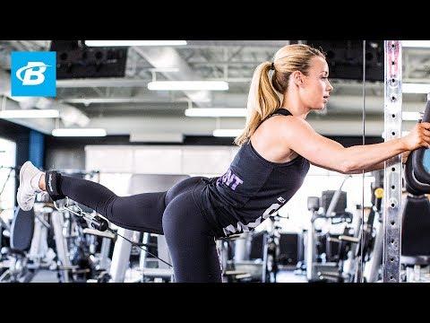 Lower-Body Bikini Workout | IFBB Pro Bikini Annie Parker