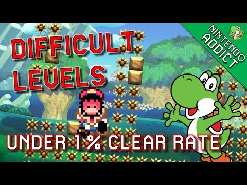 Difficult Viewer Levels UNDER 1% | Live Super Mario Maker Viewer Levels
