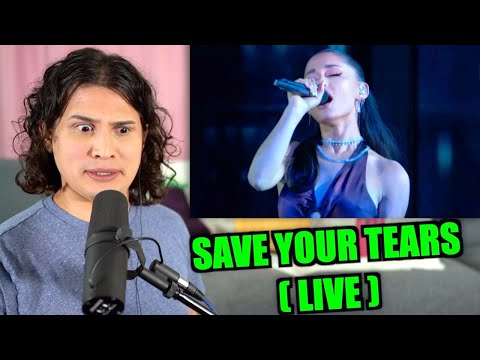 Vocal Coach Reacts to Save Your Tears (Live)