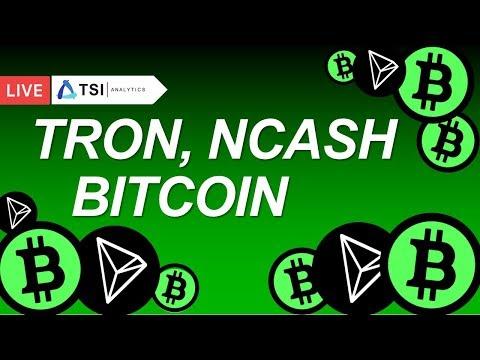 Bitcoin, Tron, NCash. Перспективы роста. Вебинар | Прогноз Биткоина, Трона, Криптовалют на 2018