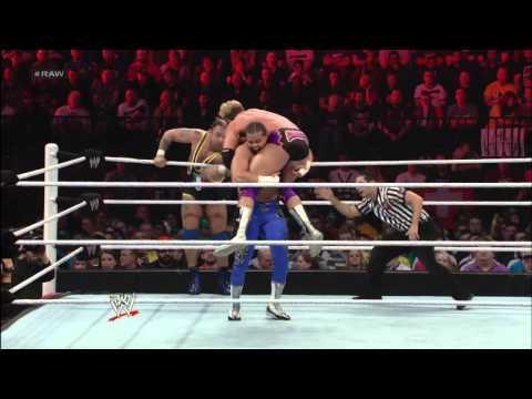 Zack Ryder & Santino Marella vs. Primo & Epico: Raw, Nov. 5, 2012
