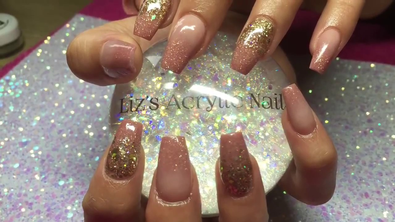 Gold Ombre Nails Best Nail Designs 2018