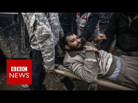 Mosul: Painful struggle against IS in Iraq - BBC News