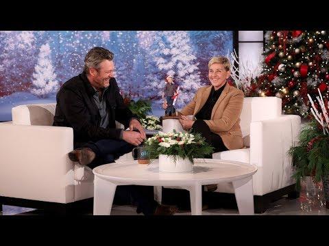 Ellen Introduces Blake Shelton to His Doll
