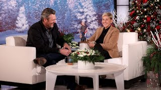 Ellen Introduces Blake Shelton to His Doll