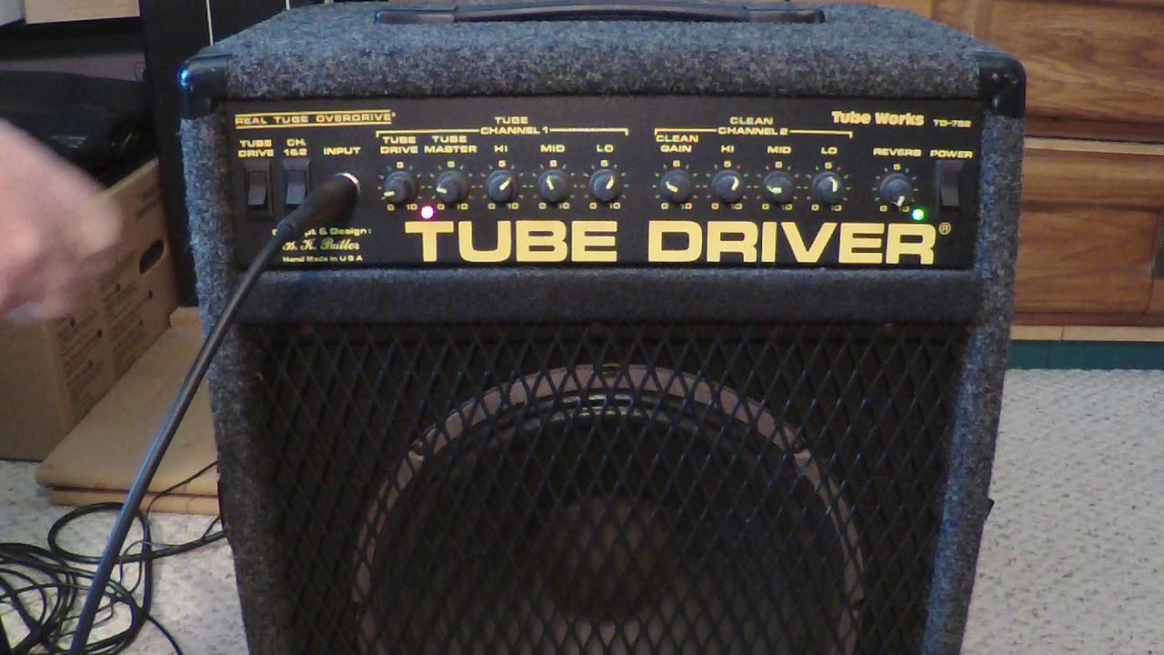Tube Works amplifier channel blending