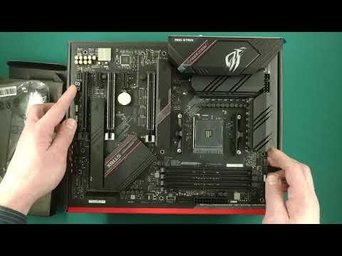 Материнська плата Asus ROG Strix B550-E Gaming (sAM4, AMD B550, PCI-Ex16)