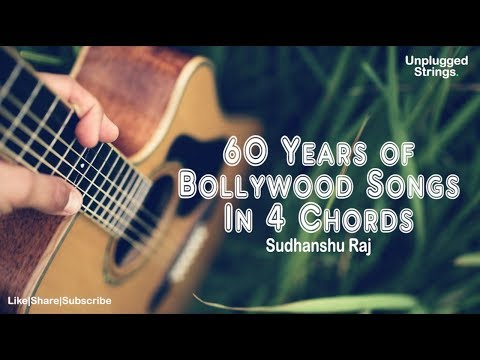 60 Years of Bollywood Songs in 4 Chords | Mashup | Sudhanshu Raj | Unplugged | Old Songs Redention