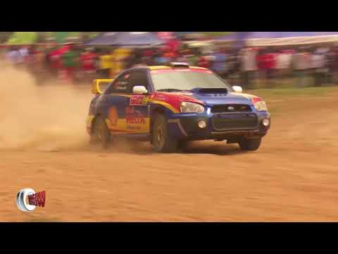 Pearl Of Africa Rally UGANDA 2016 Day one Super Special Stage at Busiika