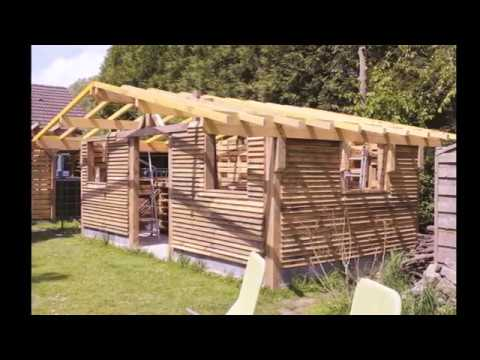 atelier cabane de jardin en palette petite taille youtube. Black Bedroom Furniture Sets. Home Design Ideas