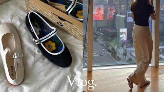 vlog /직장인 브이로그. 일주일 데일리룩. 빅토리아…