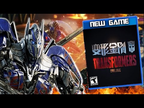 NEW TRANSFORMERS GAME Trailer + First Thoughts - Transformers Online MMO