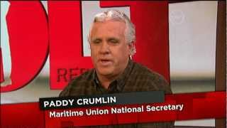 Paddy Crumlin - The Bolt Report