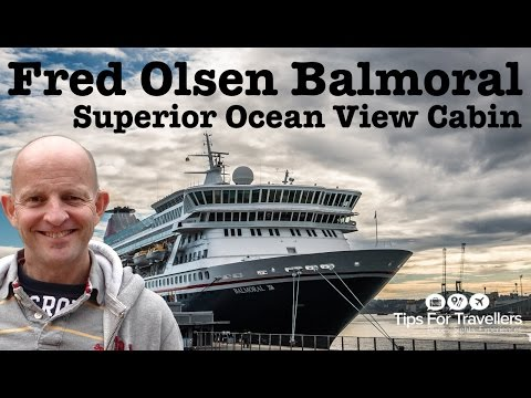 Fred Olsen Balmoral Superior Ocean View Cabin tour and review. A cabin you would like to cruise in?