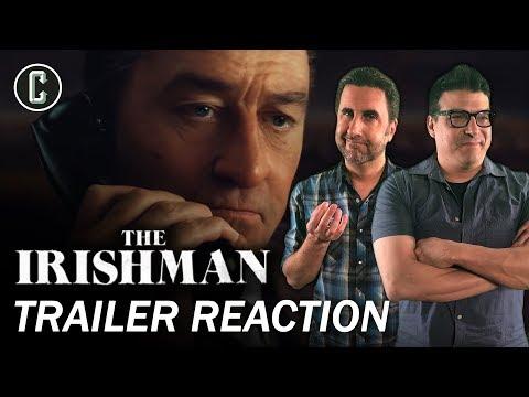 The Irishman Teaser Trailer Reaction & Review