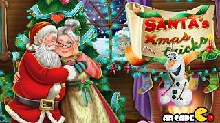 Santa Claus Kissing Mrs. Claus - Kids Christmas Games
