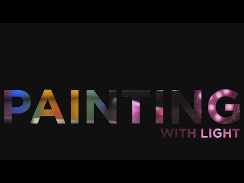 Painting with light - quick tips - Canon