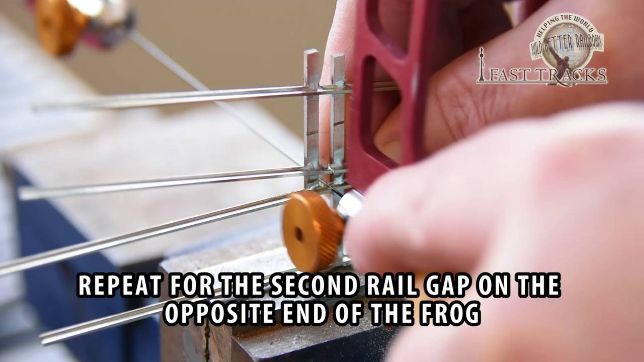 Cutting Rail Gaps Youtube Model Railroads Additional Lockon Electrical Continuity Gauge