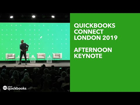 Afternoon Keynote: QuickBooks Connect London 2019 - YouTube