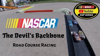 NASCAR 1/64 Diecast Road Course Racing at The Devil's Backbone