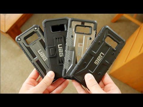 Galaxy S8 - All UAG Urban Armor Gear Cases Comparison Plasma vs Pathfinder vs Metropolis vs Monarch
