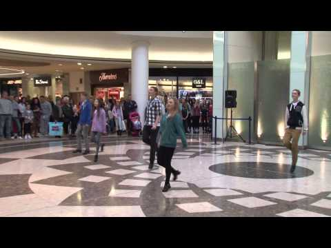 Irish Dancing Flashmob in Essex by Aer Lingus Regional and London Southend Airport