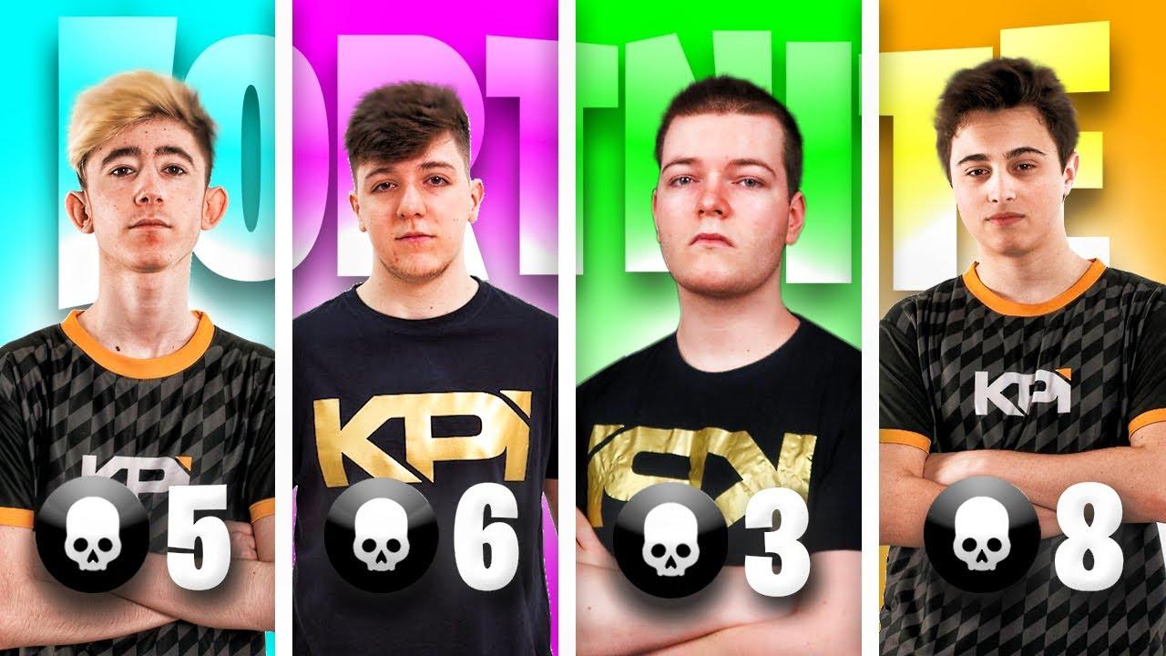1 kill cada jugador de mi equipo competitivo... *acaba bien*