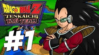 Lets Beat Raditz... WHY IS HE SSJ4?! | Dragon Ball Z: Tenkaichi Tag Team (PART #1)