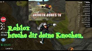 Roblox - Broken Bones IV - Funny Game, Break Your Bones [English/English]