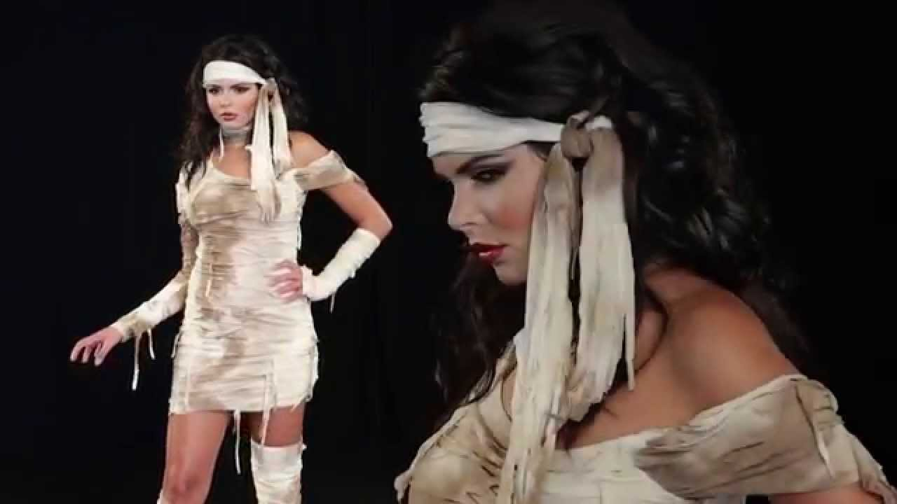 mystical mummy womans costume 01366 youtube - Mystical Halloween Costumes
