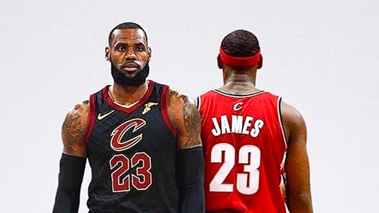 new styles 25486 ae14a LeBron James vs LeBron James! Rookie LeBron James Meets 2018 LeBron James