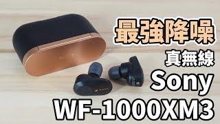 Sony WF-1000XM3 真無線藍牙耳機   最強降噪真無線【束褲開箱】