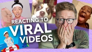 Reacting to VIRAL Videos (Baby Shark, Zendaya is Meechee, and more!)