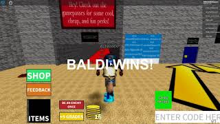 Baldi with his Lat VS Jasper with a Radio. Roblox #68