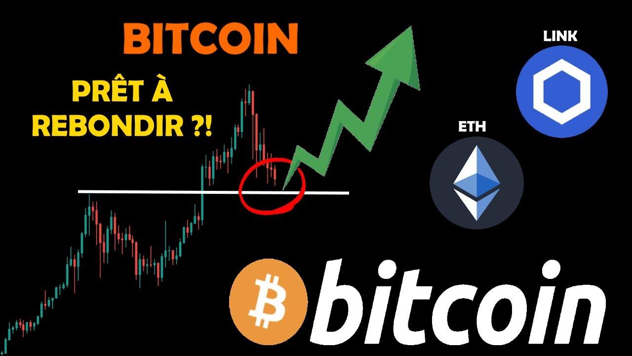 BITCOIN 🤔 REBOND SUR LES 41K ?! ETHEREUM ⚠️DANGER / CHAINLINK 📈 REPRISE ?! analyse crypto monnaie fr