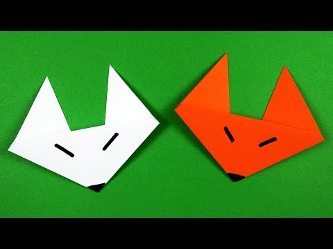 Origami Fox Face Easy to fold easy follow HD tutorial - YouTube | 360x480