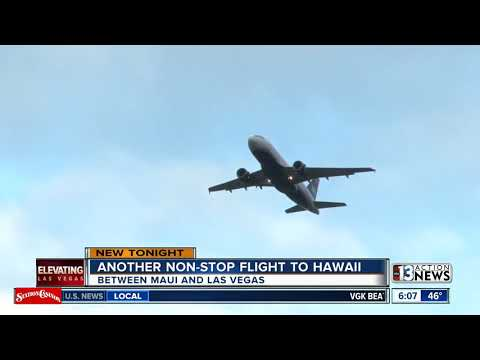 Hawaiian Airlines Launches Non-stop Service To Las Vegas
