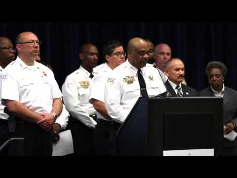 Chicago Police Supt. Eddie Johnson talks new standards