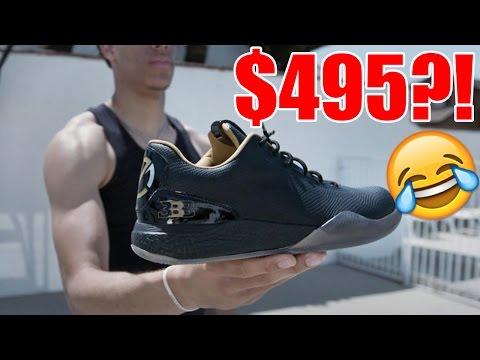 Exercises in Futility - Roasting Lonzo Ball's $495 Basketball Sneaker